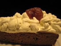 La Croix du Reh - chestnut cake