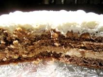 Galya's white chestnut cake